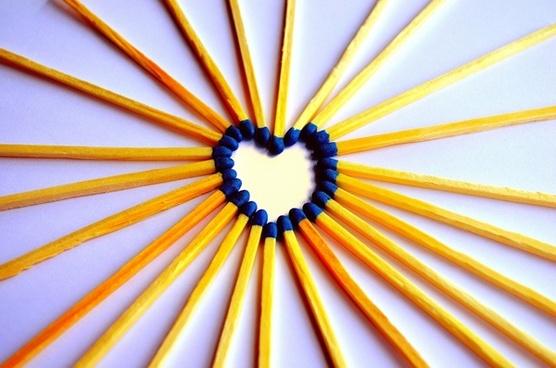 heart matches match