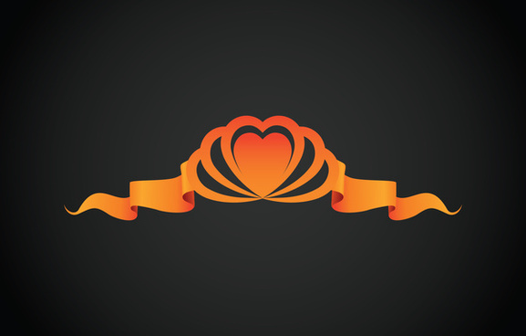 heart ribbon concept