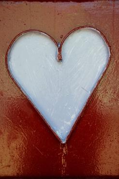 heart white heart valentines