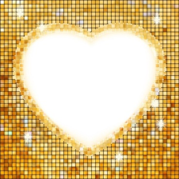 heartshaped border 03 vector