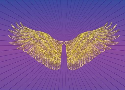 Heaven Wings Vector