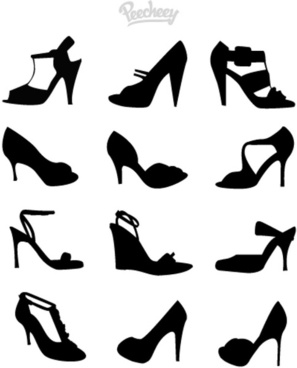 heels silhouettes
