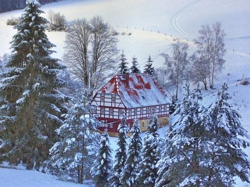 heimatstube hut of the sbb winter