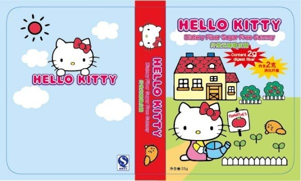 hello kitty cover design elements vector