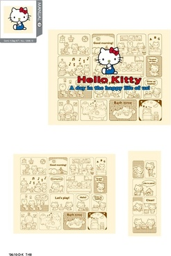 hello kitty official vector 152