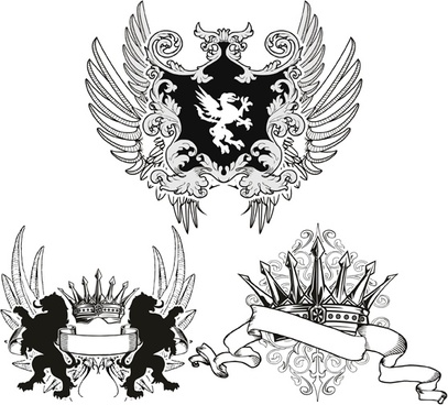 Heraldry Fashion T-shirt Designs