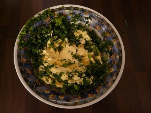 herb butter butter margarine