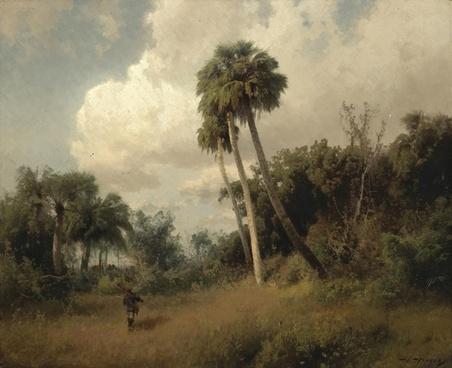 hermann herzog landscape painting