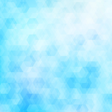 hexagon blue abstract background
