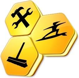 Hexagonal sign