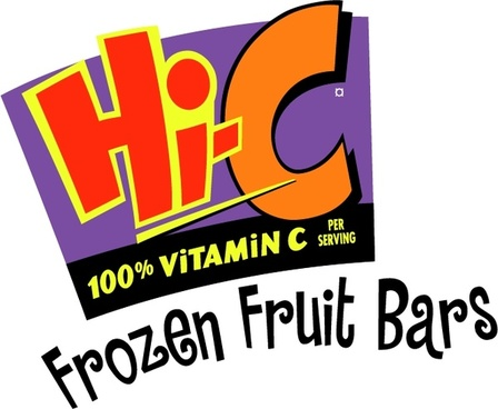 hi c frozen fruit bars