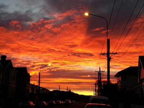 high ember sunrise