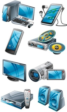 high quality products vector digital