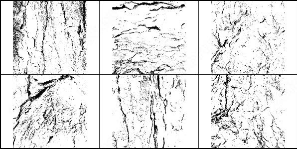 high resolution tree bark texture brush