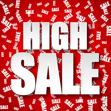 high sale poster