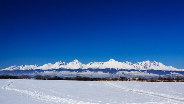 high tatras in winter