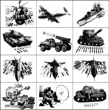 high tech warfare brush