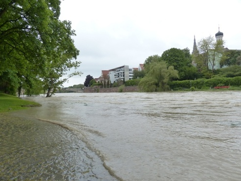 high water danube ulm