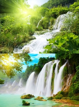 highquality pictures of beautiful waterfall flowing