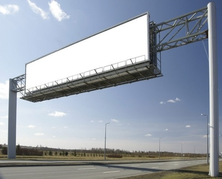 highway blank billboards hd picture
