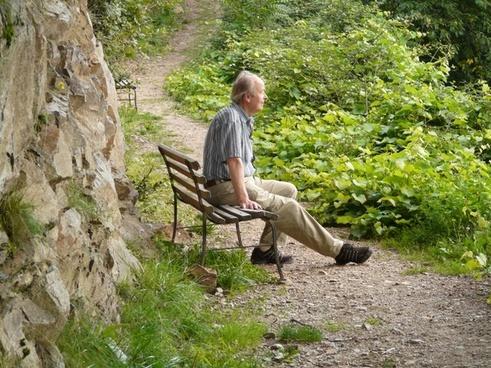 hike trail wanderer