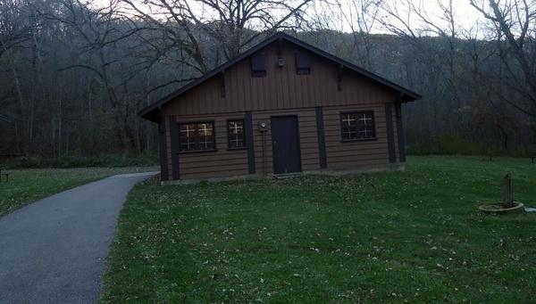 hiking club cabin at beaver creek valley state park minnesota