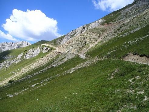 hiking trail away