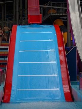 hill slide water slide slide