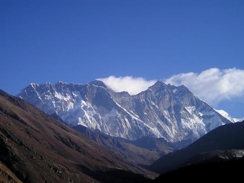 himalayas nepal mount