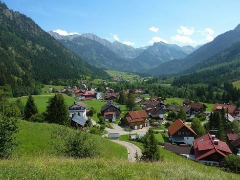 hinterstein germany village
