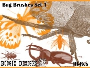 Hi-Res Photoshop Brushes - Bug 1