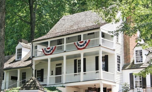 historic tavern 1784 bunting