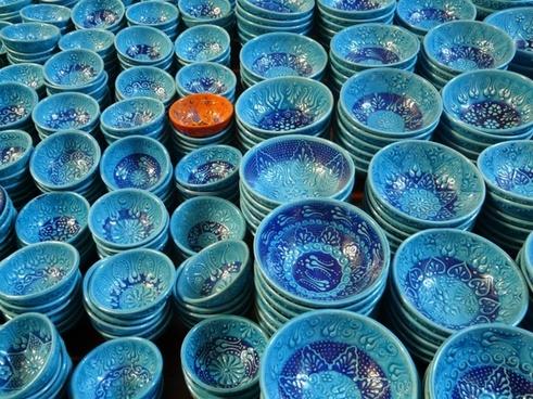 history pottery shells