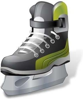Hockey Ice Skate vector ai, ice sakte vector illustrator ai, hockey vector sport ai illustrator design