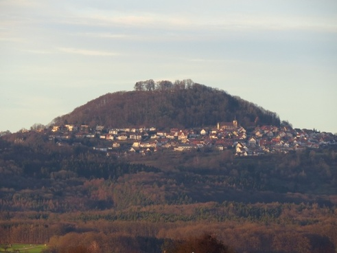 hohenstaufen mountain witness mountain