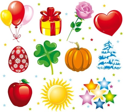 holiday graphics vector