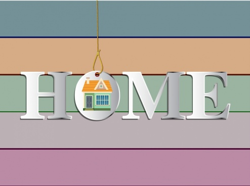 home background shiny capital texts horizontal stripes decor