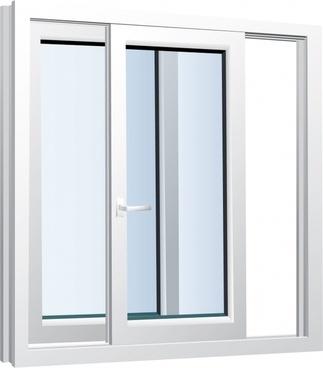 home window template modern elegant horizontal slide design