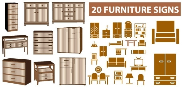 home furniture clip art