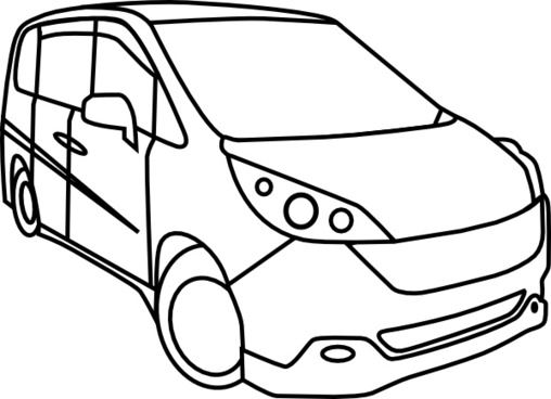 Honda Step Wagon clip art