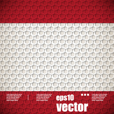 honeycomb shapes pattern background