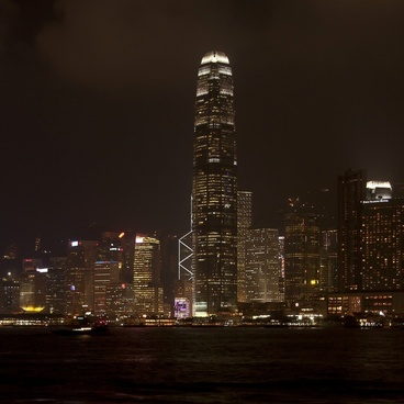 hong kong china city