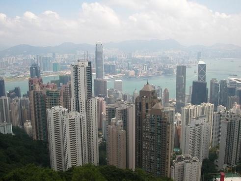 hong kong city big city