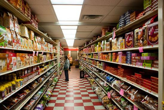 hong kong supermarket in chinatown