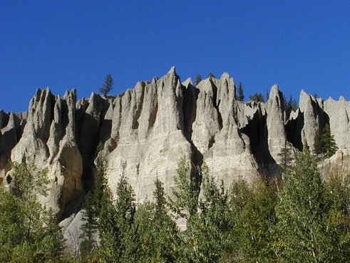 hoodoos kootenay county british columbia