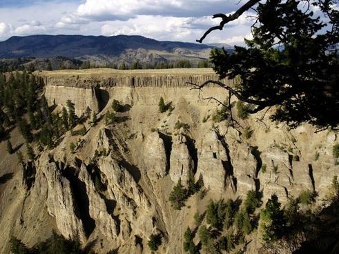 hoodoos yellowstone national park wyoming