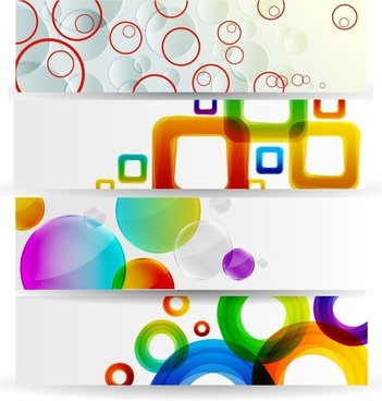 Horizontal Banner Vector
