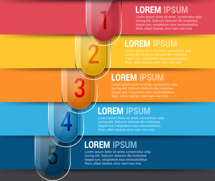 horizontal editable infographics design template