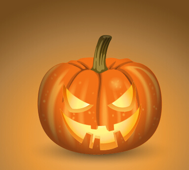 horror pumpkins halloween vector