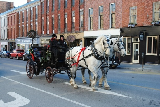 horsedrawn carriage port hope